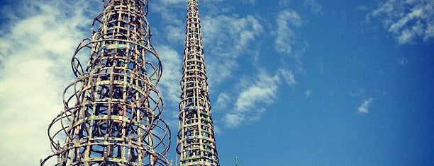 Watts Towers of Simon Rodia State Historic Park is one of Los Angeles.