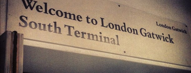 Flughafen London Gatwick (LGW) is one of Airports visited.