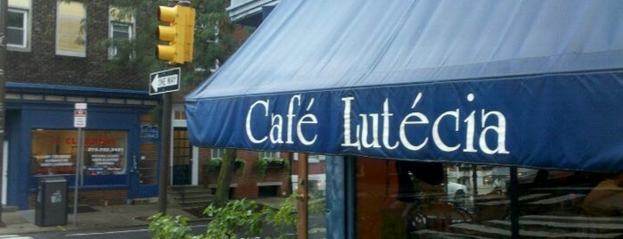 Cafe Lutecia is one of Philly.