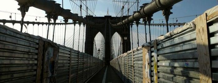 Brooklyn Bridge is one of NY.
