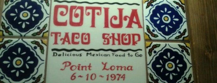 Cotija Taco Shop is one of Kat 님이 좋아한 장소.