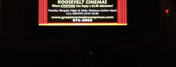 Roosevelt Cinemas is one of Posti che sono piaciuti a Pame.