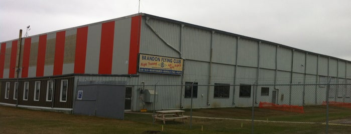 Brandon Municipal Airport (YBR) is one of Kim's Liked Places.