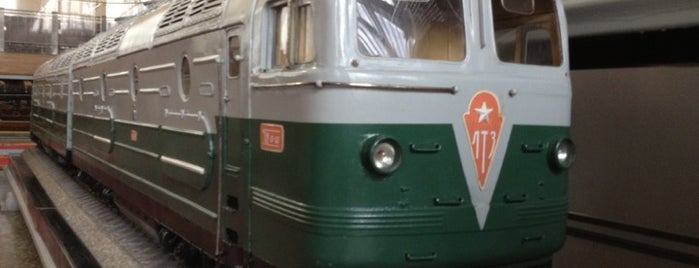 Центральный музей железнодорожного транспорта is one of Must-visit LOCATION HOSTEL list.