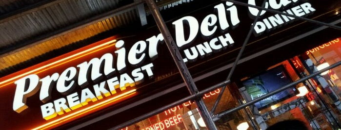 Premier Deli Café is one of New York.
