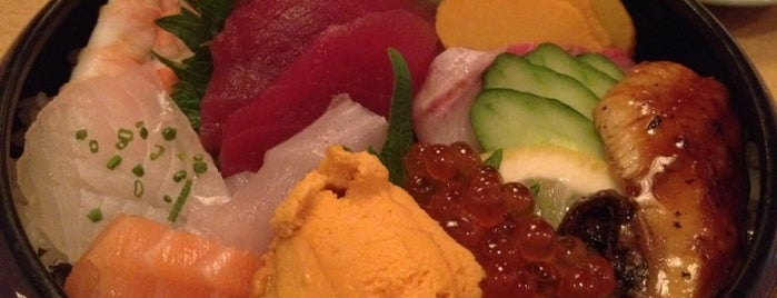 Hatsuhana is one of NYC Yumminess.