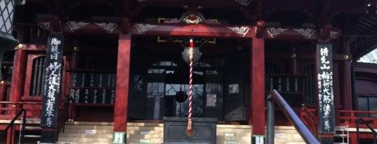 待乳山聖天 (本龍院) is one of 浅草七福神めぐり.