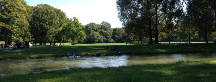 Englischer Garten is one of 100 обекта - Германия.