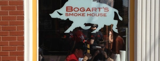 Bogart's Smokehouse is one of St Louis.