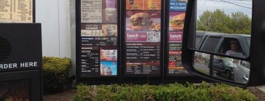 McDonald's is one of restaraunts.