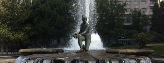 Jardines de Plaza de España is one of Que visitar en Madrid.