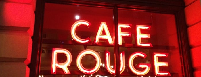 Café Rouge is one of London.