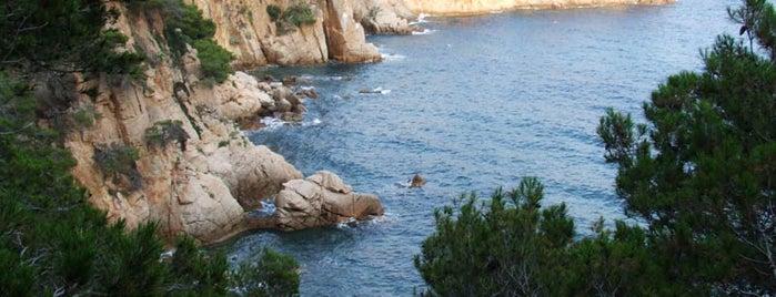 Cala del Vigatà is one of Playas de España: Cataluña.