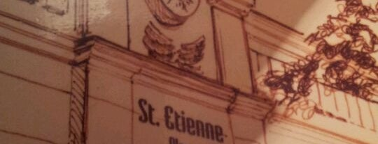 St. Etienne is one of Comer na Vila Leopoldina e arredores.