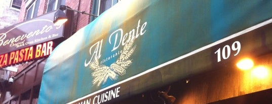 Al Dente is one of Amandaさんの保存済みスポット.