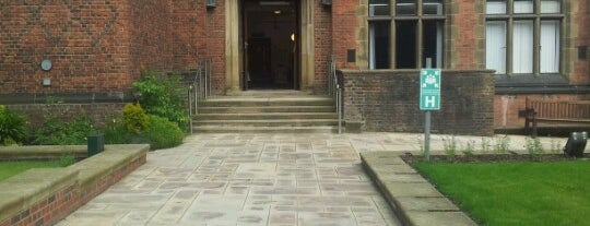 Old Library Building is one of Newcastle University.