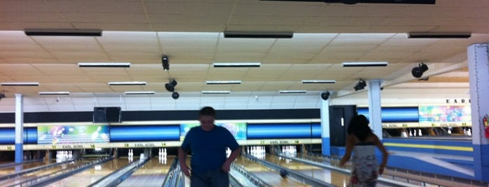 Earl-Bowl Lanes is one of Pinball Destinations.