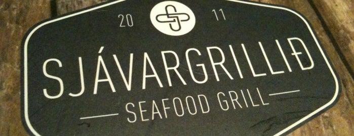 Sjávargrillið is one of Reykjavik Restaurants.