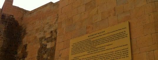 Bayburt Kalesi is one of Ç.