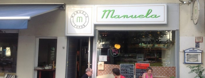 Manuela Tapas is one of Spanish Food Berlín.