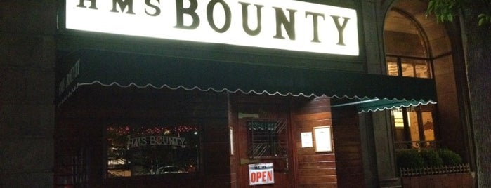 The HMS Bounty is one of Downtown L.A. Joints.