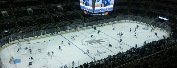 SAP Center at San Jose is one of US Pro Sports Stadiums - ALL.