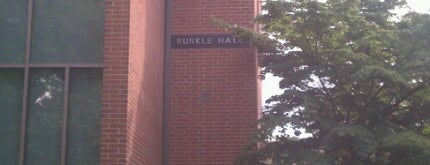 Runkle Hall is one of Lugares favoritos de Eric.