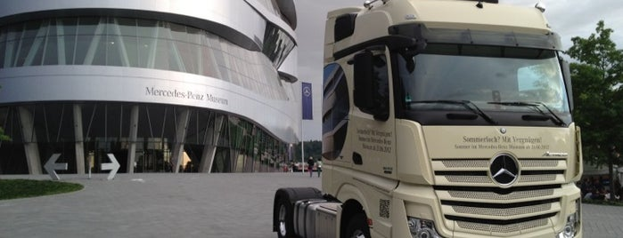 Mercedes-Benz Museum is one of Bucket List for Gearheads.