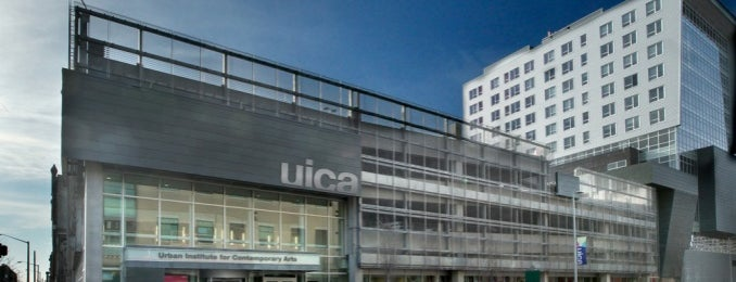UICA (Urban Institute Of Contemporary Art) is one of AB 님이 좋아한 장소.