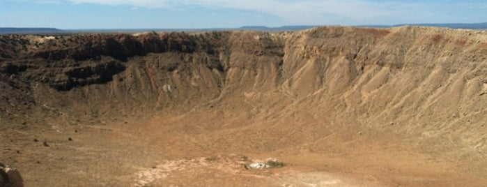 Meteor Crater is one of Crazy Places.