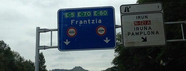 Confine F/E - Autopista AP-8 / Autoroute A63 is one of J'ai vu !.