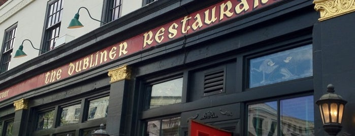 Dubliner Restaurant & Pub is one of A Not So Tourist Guide to DC.