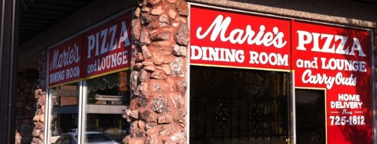 Marie's Pizza & Liquors is one of Chicago Food Spots.