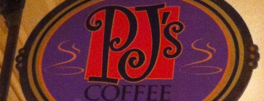 PJ's Coffee Cafe is one of Tempat yang Disukai David.