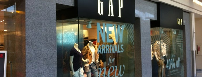 GAP is one of Locais curtidos por Brian.