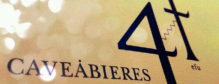 カヴァビエール ヨンエフ CAVEABIERES 4f is one of クラフトリカーズのクラフトビールを飲めるお店.