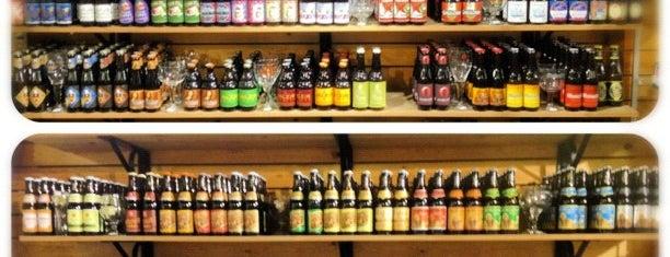 The Bottle Shop is one of Bruges beer stores.