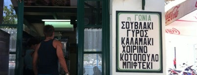 Γωνία is one of fastfood.