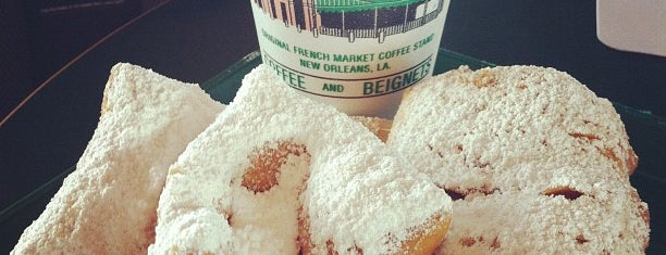 Café Du Monde is one of New Orleans Points of Interest.