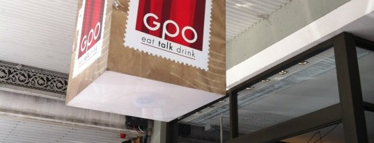GPO Restaurant & Lounge Bar is one of Christopher's Liked Places.