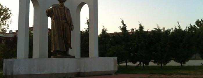 Sinanoba Barıs Manço Parkı is one of Tempat yang Disukai VOLKAN.