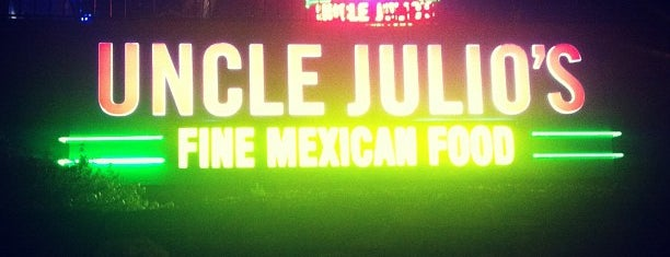 Uncle Julio's Fine Mexican Food is one of Lieux qui ont plu à Gus.