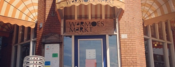 Warmoes Markt is one of Cool coffee bars.