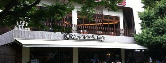 Royal Garden Cafe is one of Locais curtidos por Uzai.