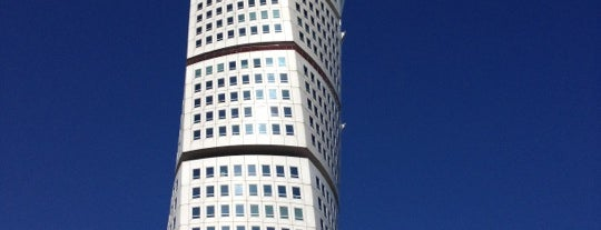Turning Torso is one of Best of Malmö according to Media Evolution.