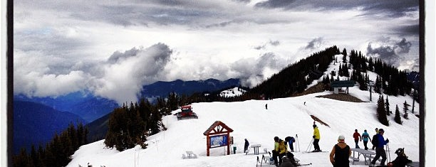 Crystal Mountain Ski Area is one of Ski.