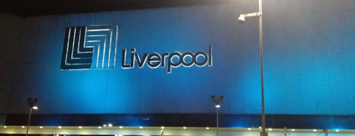 Liverpool is one of Lieux qui ont plu à Shine.