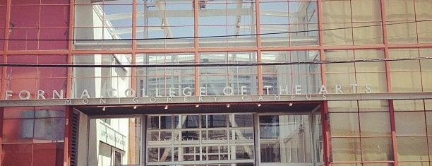 California College of the Arts is one of Tempat yang Disimpan Michael.