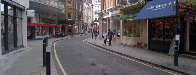 Marylebone Lane is one of London.