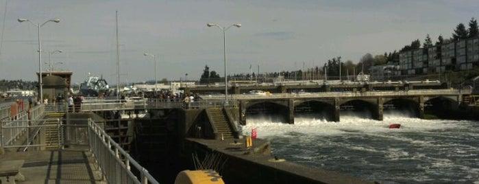Hiram M. Chittenden Locks is one of 2012 MLA Seattle.